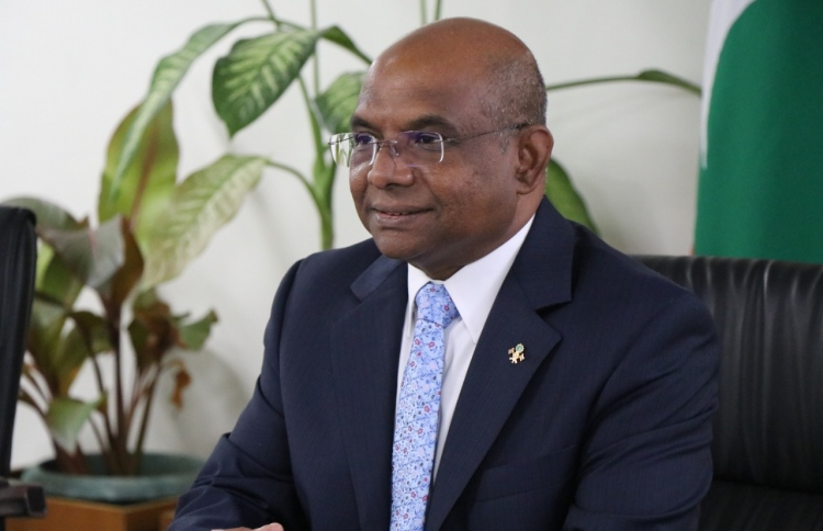 UNGA Maldives Foreign Minister